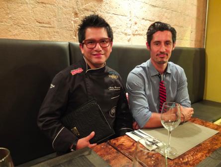 Nicky Ramos y Patrick Weber / Los Foodistas