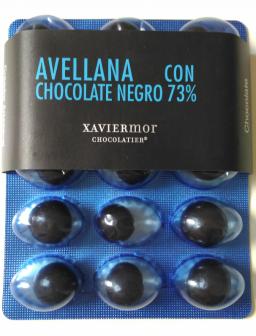 Avellanas con chocolate de Xavir Mor / Foto: Godo Chillida para Los Foodistas
