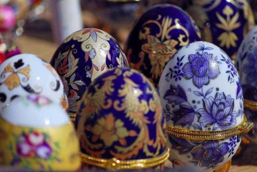 Huevos decorados Rusos / Google+ Costumbres y tradiciones