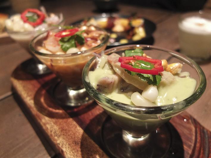 Degustación de ceviches /Foto: Godo Chillida para Los Foodistas