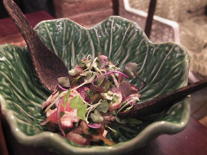 Ceviche de Caña de Azúcar / Foto: Godo Chillida para Los Foodistas©
