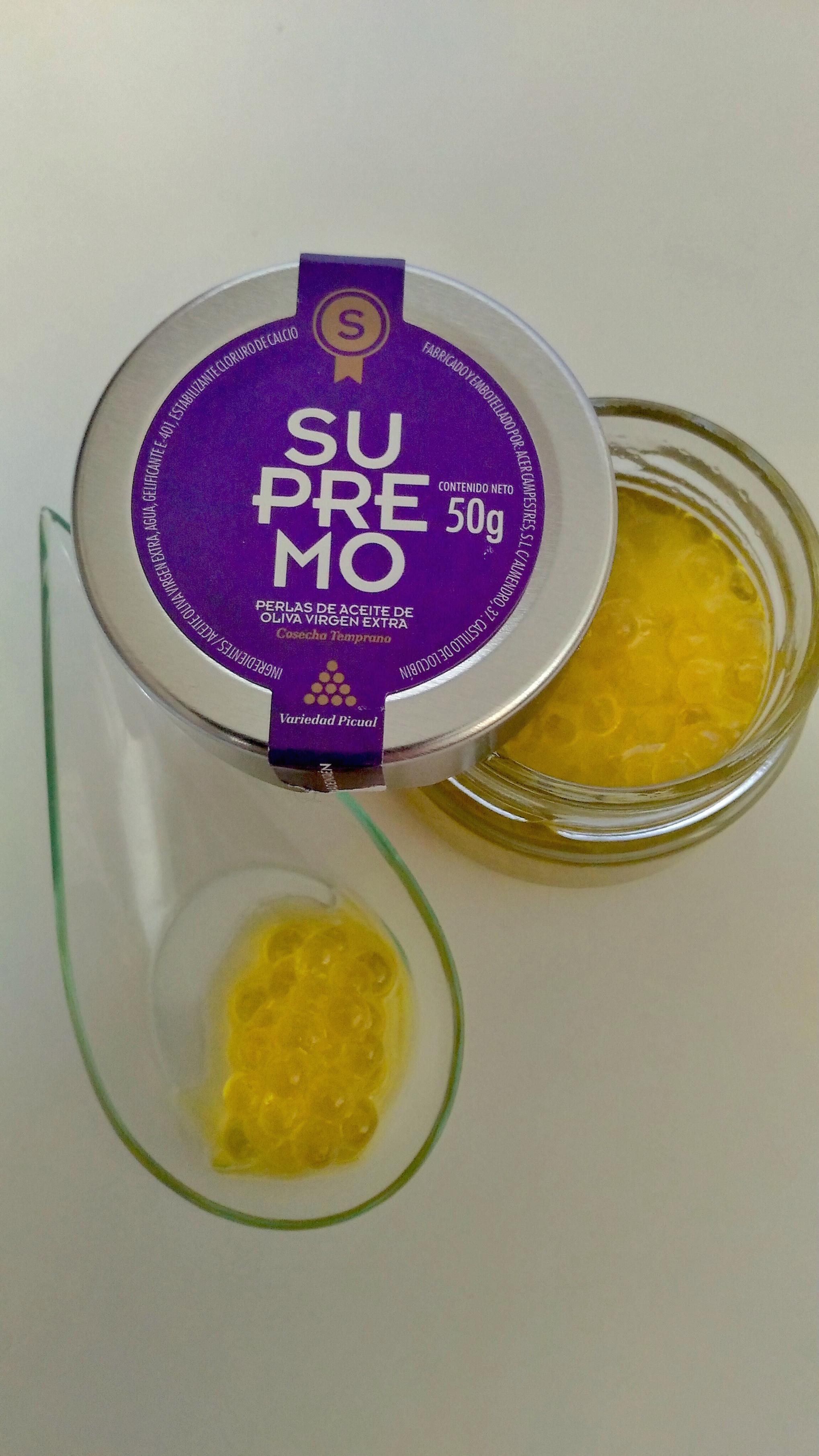 Caviar aceite de oliva Supremo / Los Foodistas©