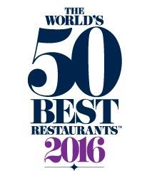 50 mejores restaurantes del mundo de 2016