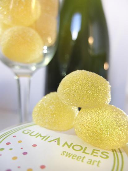 Gominolas de Cava, de GumiAnoles /Foto: Godo Chillida para Los Foodistas©