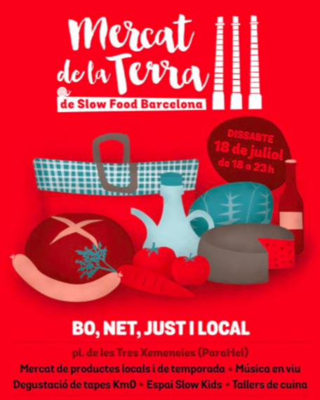 Mercat de la Terra Slow Food