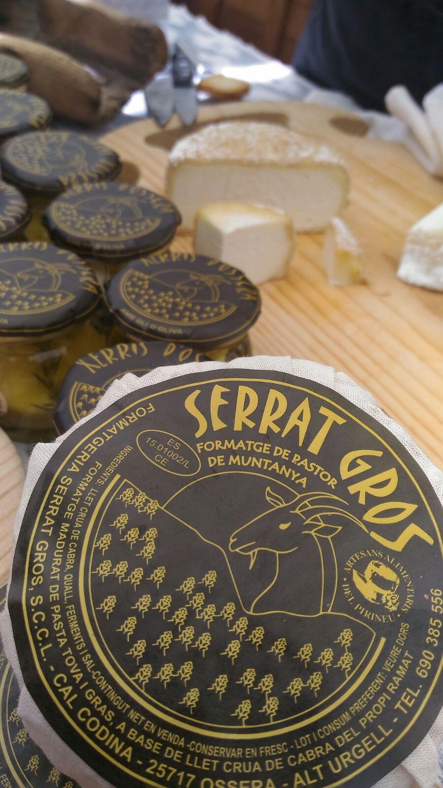 Quesos artesanales de Serrat Gros / Foto: Godo Chillida para Los Foodistas©