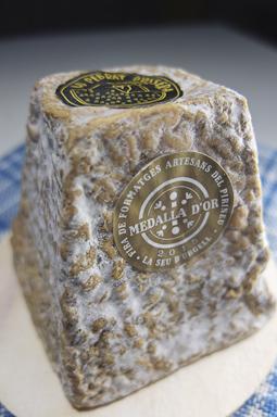 Pebrat, un queso con medalla de Oro / Foto: Godo Chillida para Los Foodistas