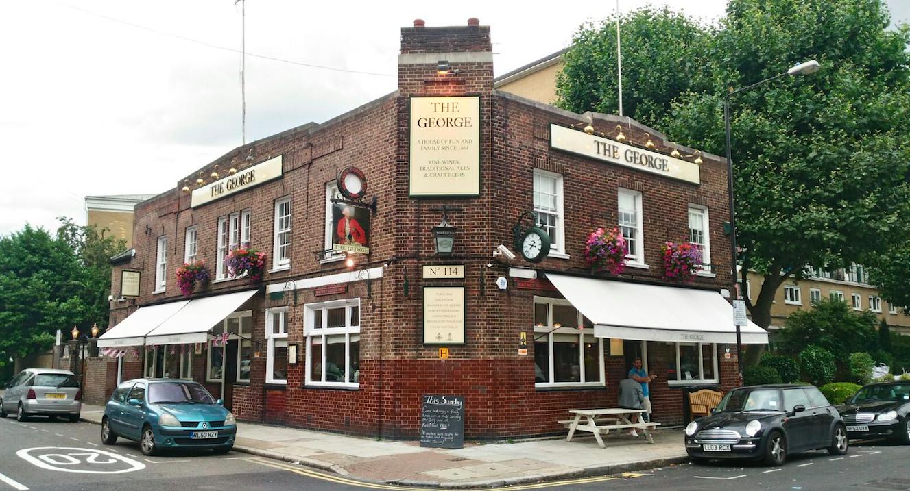 Pub The George, abierto desde 1864 -Londres /Los Foodistas©