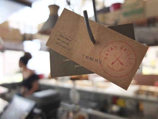 Satay Grill, abierto todos los días / Foto: Godo Chillida para Los Foodistas©