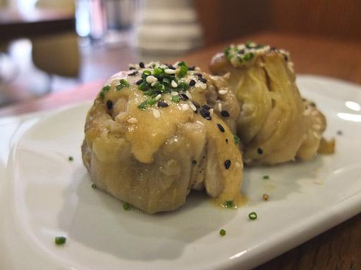 Berenjenas con miso, los entrantes de Satay Grill /Foto Godo Chillida para Los Foodistas©