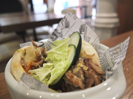 Bun Bao, panecillos tiernos rellenos con cerdo /Foto Godo Chillida para Los Foodistas©