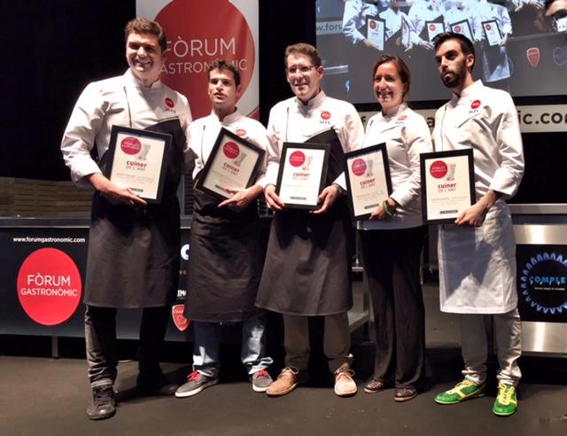 Seleccionados y ganador del Premio al Mejor Cocinero del Año 2016 / Foto: Godo Chillida para Los Foodistas©