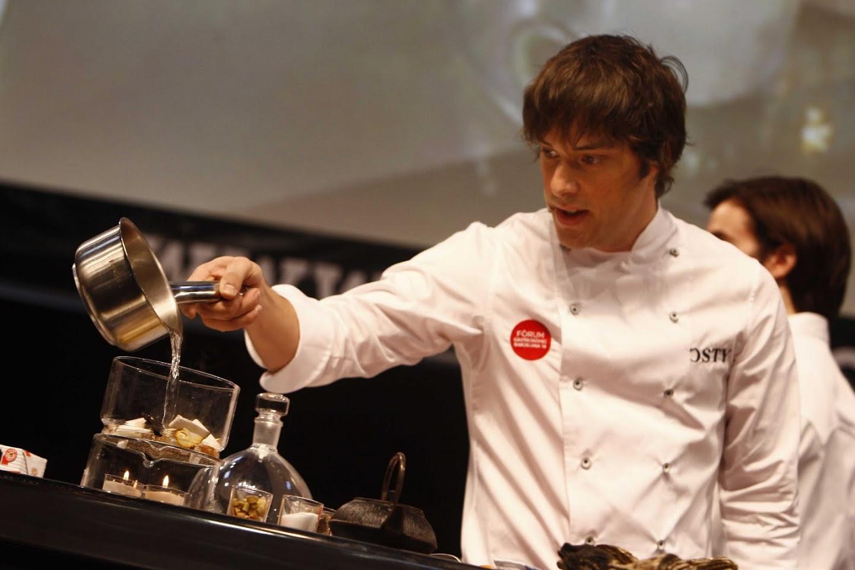 Jordi Cruz en el Forum Gastronómic de Barcelona