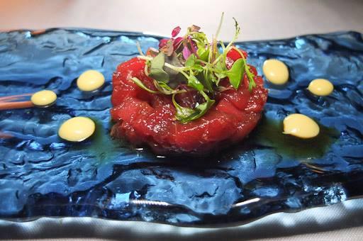 Tartare de atún rojo de Altmella de Mar /Foto: Godo Chillida para Los Foodistas©