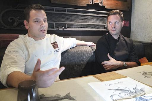 Juan Manuel Salgado y Martín Rodriguez, los chef de Plassohla / Foto: Godo Chillida para Los Foodistas©