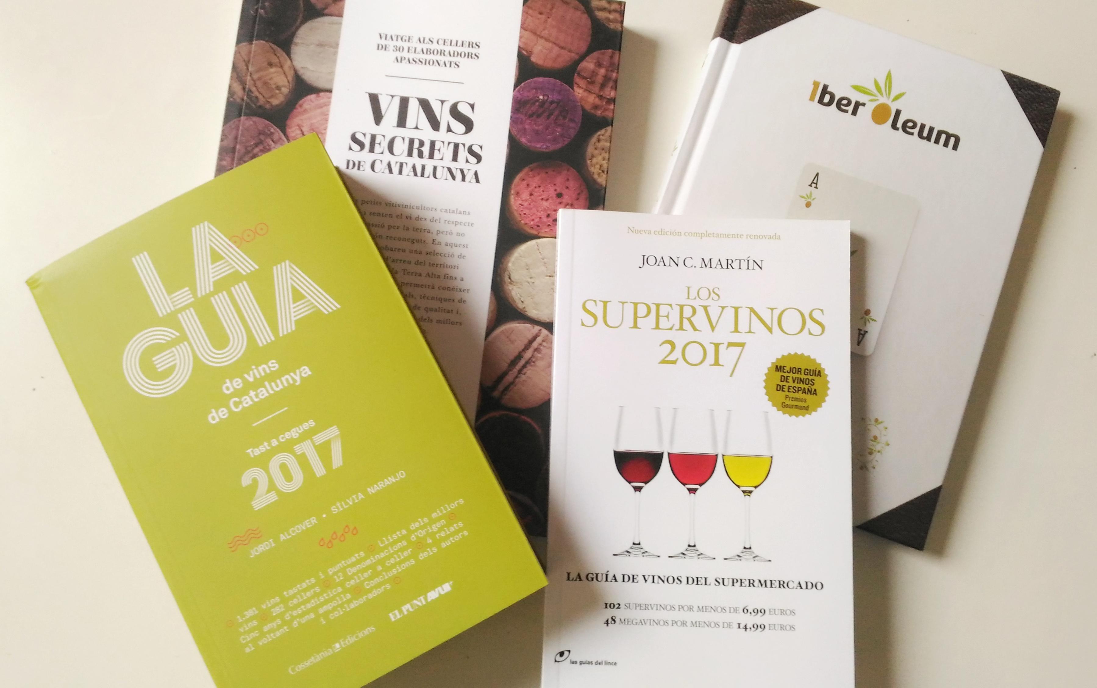 Las mejores guias de vinos y gastronomía de 2017