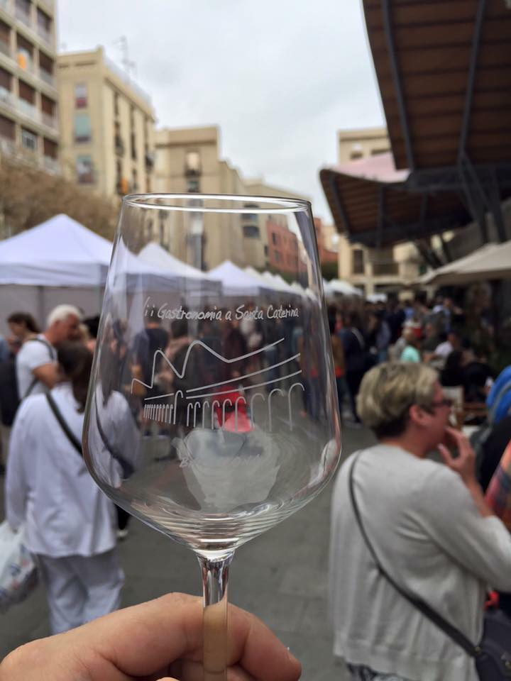 Vino y gastronomía en el mercado de Santa Caterina / Foto de la organización del evento