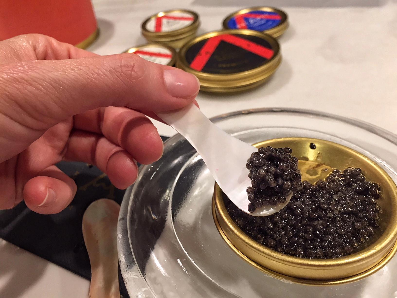 caviar y vodka